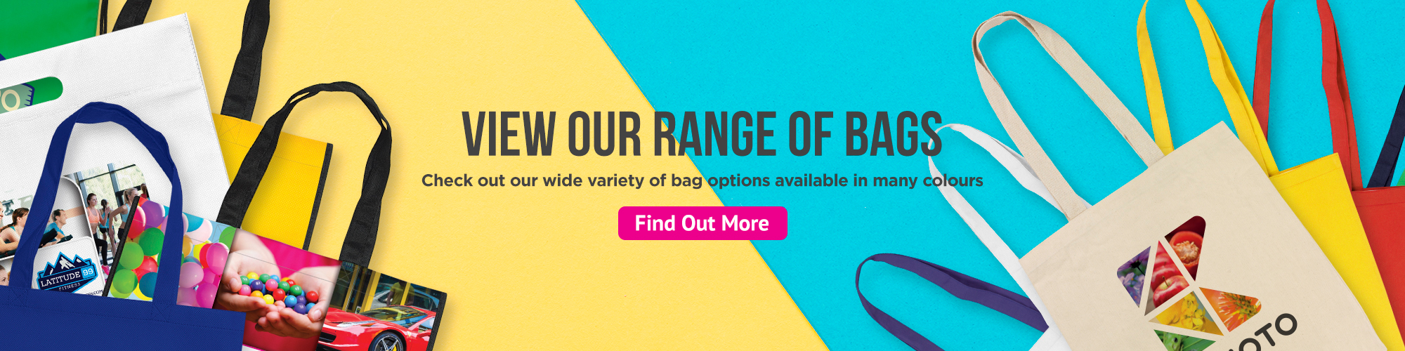 View our range of bags